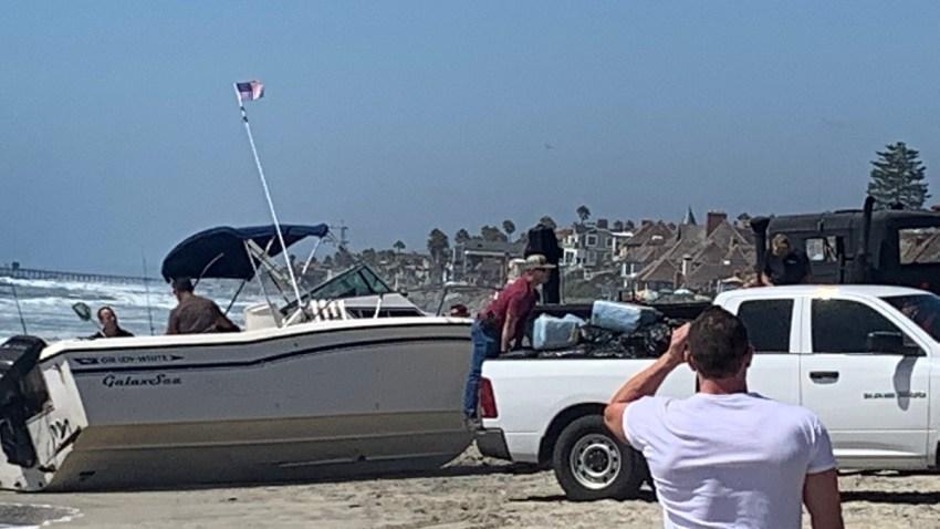 OceansidePD Marijuana Boat