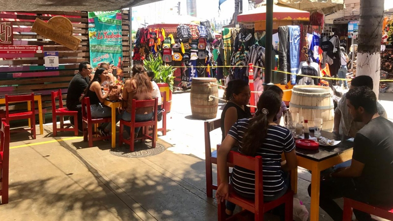 Celebran 4 de julio en Tijuana en medio de pandemia