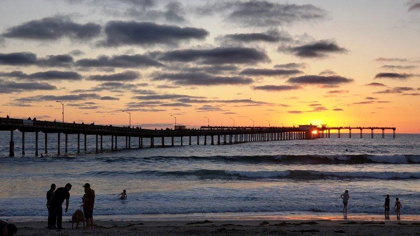 [UGCDGO-CJ-why we love san diego]Ocean Beach pier 7-1-18
