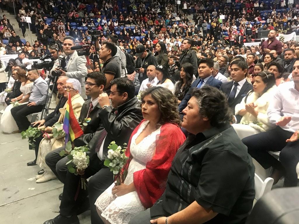 Parejas del mismo sexo pudieron casarse en la ceremonia de matrimonios colectivos  en Tijuana.