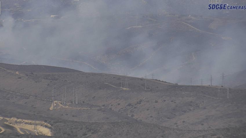 Cripps Ranch fire sdge cam