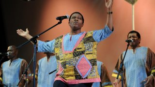July 21: Ladysmith Black Mambazo -- Lincoln Center Out of Doors at Damrosch
