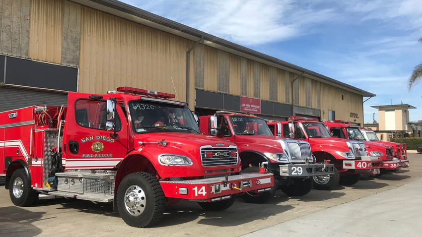 SDFD Increased Staffing