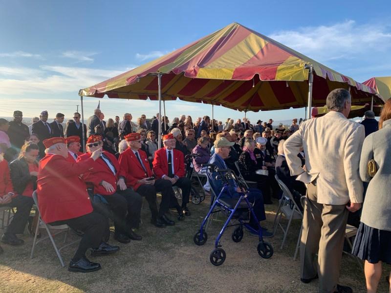 75 aniversario de la batalla de Iwo Jima recordada en Camp Pendleton