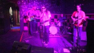 The Kabbs performing at Bar Pink