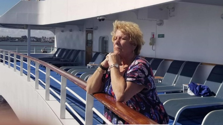 An Encinitas mother stuck on a cruise ship in South America