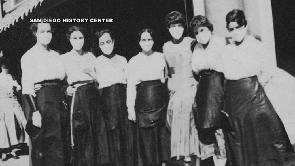 1918 picture during the flu