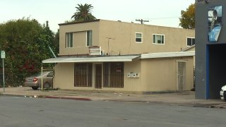 A building in City Heights police describe as a known illegal gambling den.