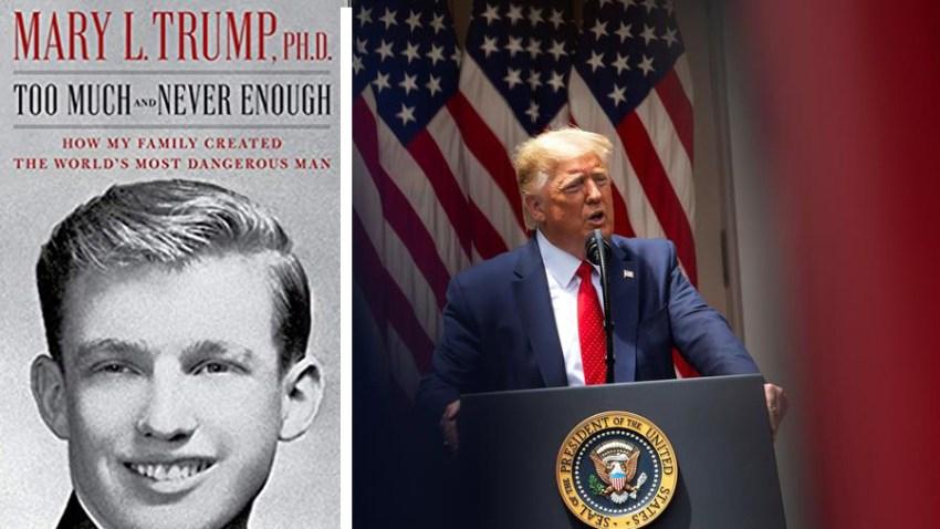 Libro sobre la familia Trump, escrito por sobrina del presidente.