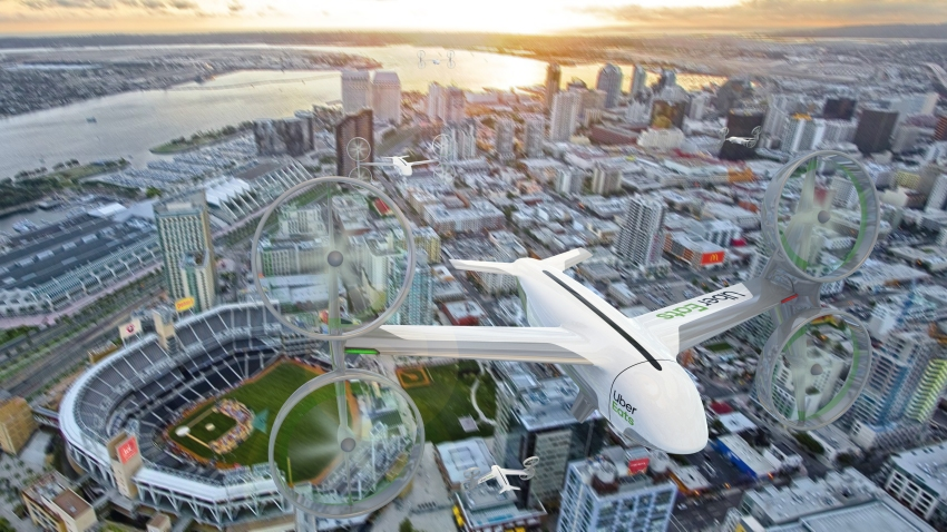 Uber Elevate_Drone Delivery - San Diego