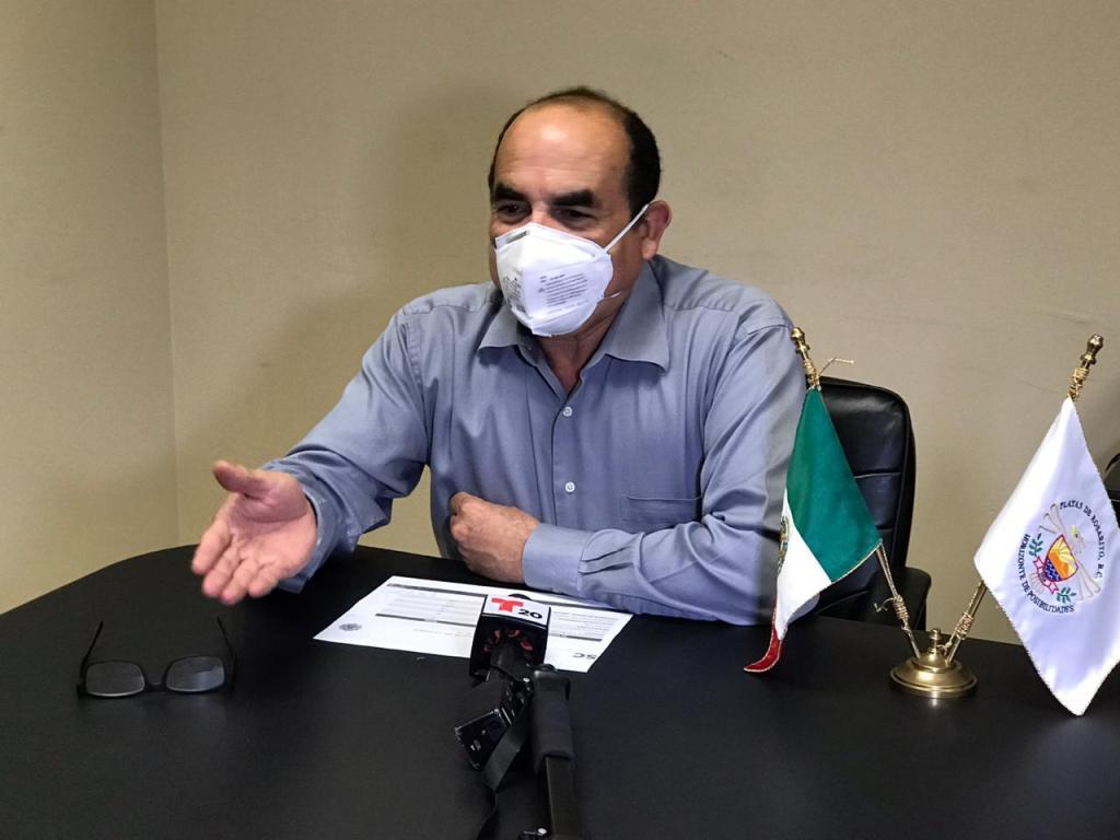 Francisco Javier Arellano, secretario de seguridad en Rosarito
