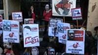 Hasta en Argentina protestan por la muerte de George Floyd