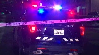 San Diego police patrol car