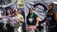 Mujeres exigen justicia contra presunto taxista violador