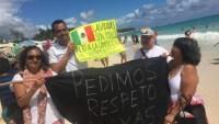 """""""Las playas son públicas"""": cientos protestan con picnic masivo"""