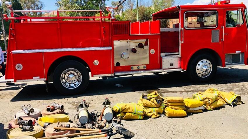 nueva unidad de bomberos en Tecate
