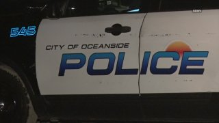Patroll car of Oceanside Police