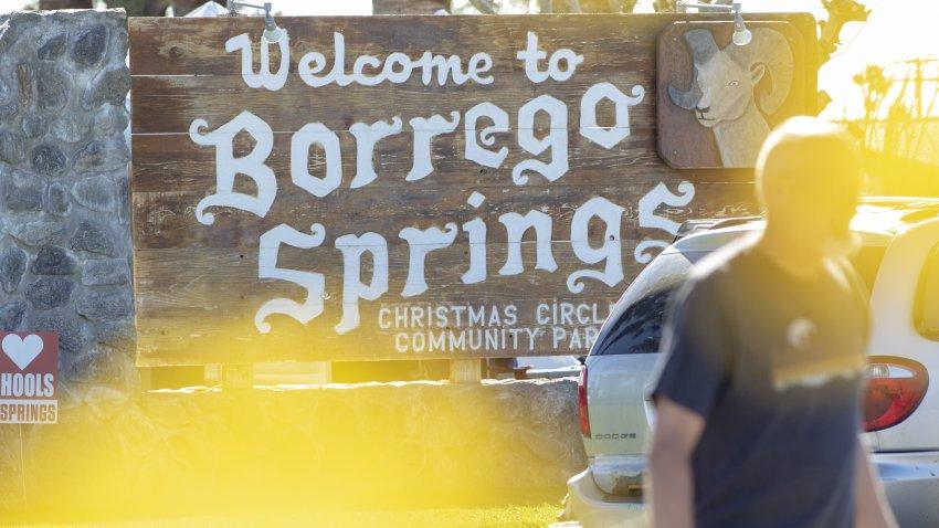 Bienvenido a Borrego Springs