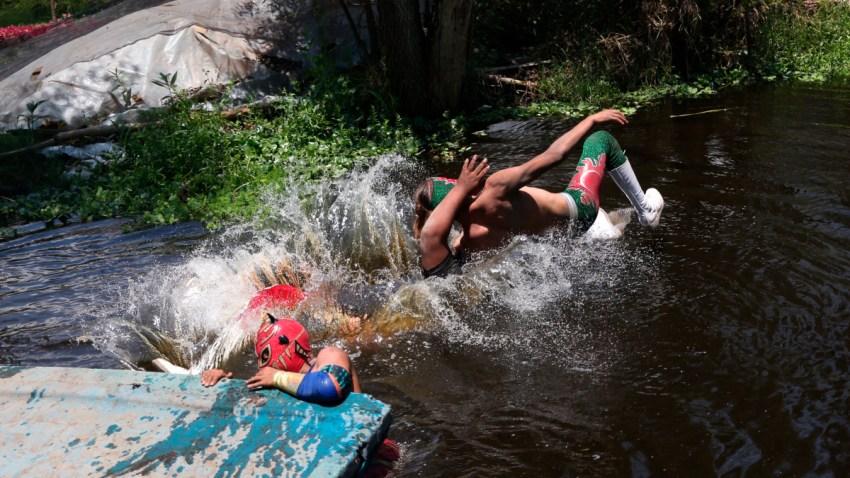 Lucha libre en Xochimilco