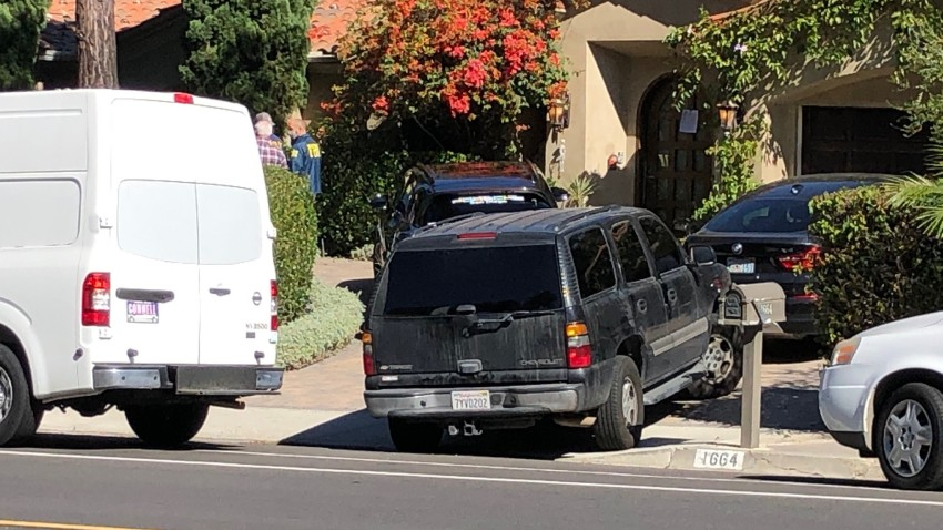 FBI at a home in the 1650 block of Nautilus Street