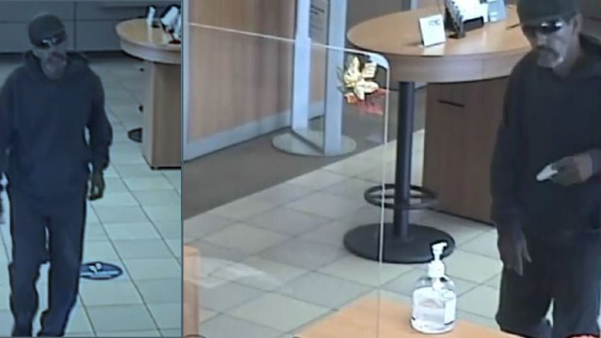 Fallbrook bank robbery suspect