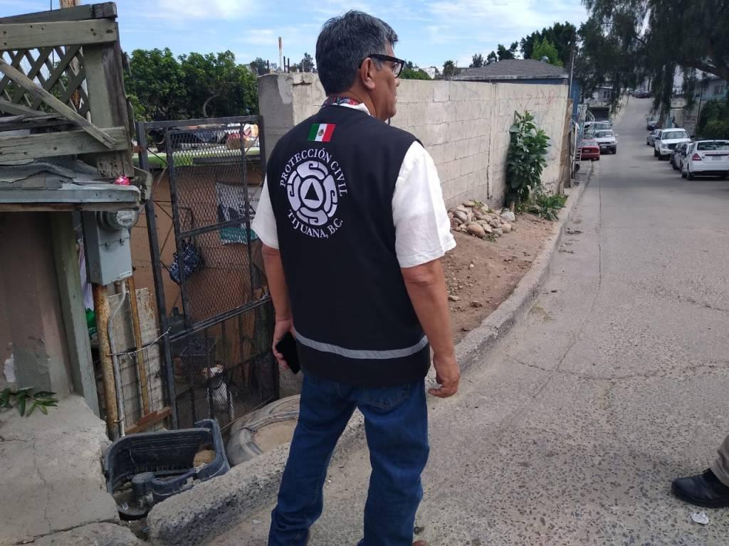 José Luis Rosas Blanco, director de protección civil de Tijuana