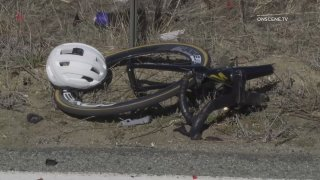 Motorcyclist and bicyclist die after impact