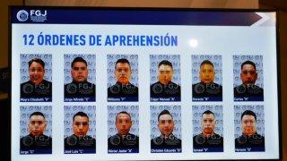 Agentes que serán detenidos por masacre en Tamaulipas