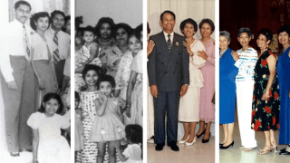 D'Cruz Family over the years