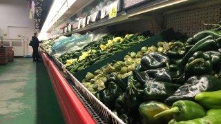 chiles en supermercado