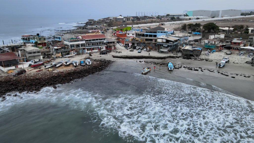 Popotla, un puerto pesquero del municipio de Playas de Rosarito Baja California