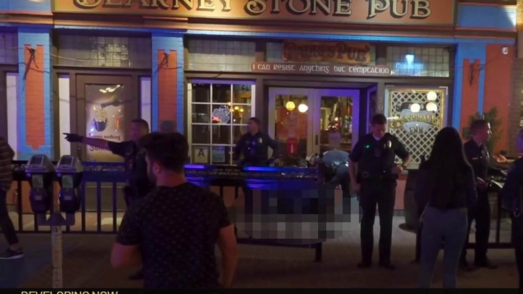 A fatal shooting took place at around 2 a.m. on Sunday night in the Gaslamp Quarter