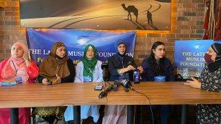 mujeres musulmanas hablan de planes para albergar afganos en Tijuana