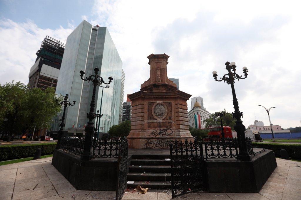 Estatua de mujer indígena sustituirá a escultura de Colón en Ciudad de México