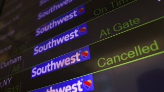 Southwest Airlines Experiences Major Flight Cancellations Across U.S.